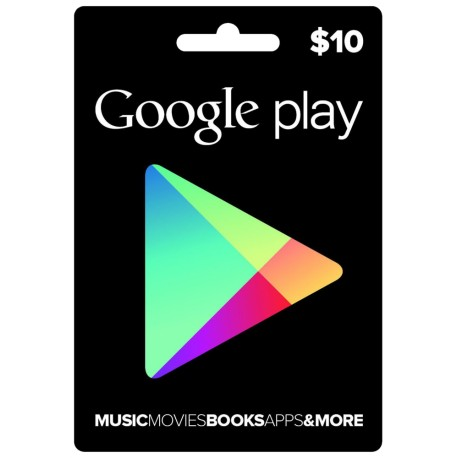 Google Play $10 [USA] gift card