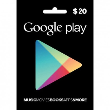 Google Play $20 [USA] gift card