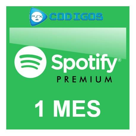 Spotify Premium 1M [Renovación]