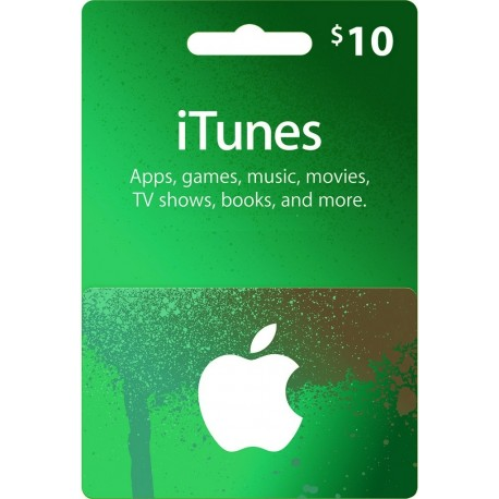 iTunes Card $10 [USA]