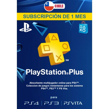 PSN PLUS 1 MES [CHILE]