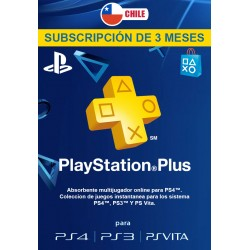 PSN PLUS 3 MESES [CHILE]