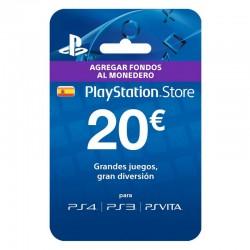 PSN CARD 20 Euros [España]