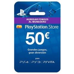PSN CARD 50 Euros [España]