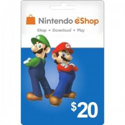 Nintendo eShop 20 US [EEUU]