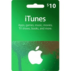 iTunes Card $10 [USA]