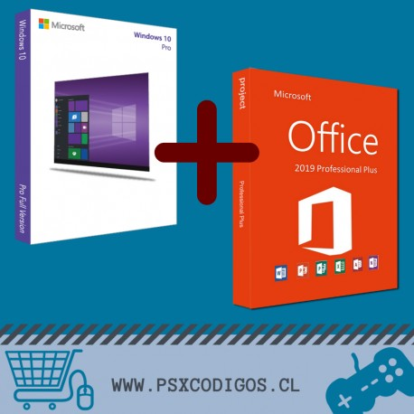 Windows 10 Profesional + Office 2019 Professional Plus