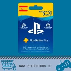 PSN PLUS 3 MESES [ESPAÑA]