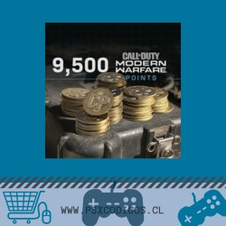 Call Of Duty Warzone: 9500 POINTS [PS4 CHILE]