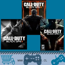 CALL OF DUTY PACK: BLACK OPS III + II + I PS3