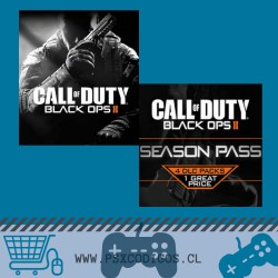 CALL OF DUTY PACK: BLACK OPS II + Seasson Pass PS3
