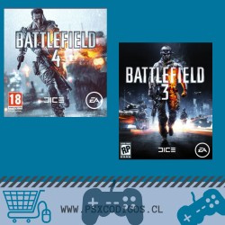 BATTLEFIELD 3 + 4 PACK PS3