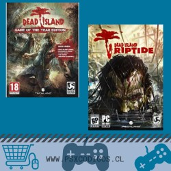 DEAD ISLAND GOTY + RIPTIDE + DLC SURVIVOR PACK PS3