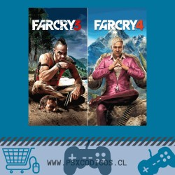 FAR CRY 3 + 4 PS3