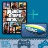 GRAND THEFT AUTO (GTA): V + Tema dinamico + DLC Dirigible PS3