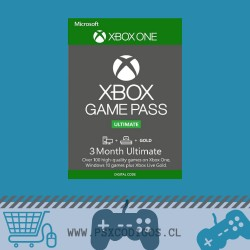 Xbox Game Pass Ultimate 3 MESES [GLOBAL: Xbox One / PC ]