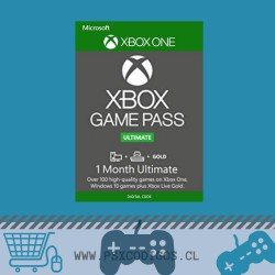 Xbox Game Pass Ultimate 1 MES [GLOBAL: Xbox One / PC ]