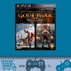 GOD OF WAR Collection: 1 HD + 2 HD PS3