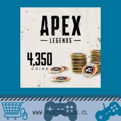 Apex Legends: 4350 Monedas Apex PS4