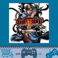 Street Fighter III Third Strike Online Edition PS3
