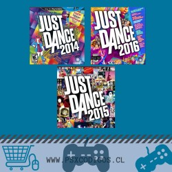 JUST DANCE 2014 + 2015 + 2016 PACK PS3
