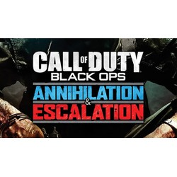 COD BO1 DLC: Anihilation + Escalation (Pack 3 y 2) DLC CALL OF DUTY BLACK OPS PS3