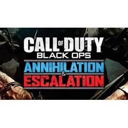 COD BO1 DLC: Anihilation + Escalation (Pack 3 y 2) DLC CALL OF DUTY BLACK OPS PS3