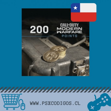 Call Of Duty Warzone: 200 POINTS [PS4 CHILE]