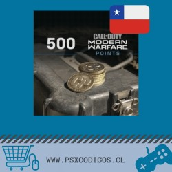 Call Of Duty Warzone: 500 POINTS [PS4 CHILE]