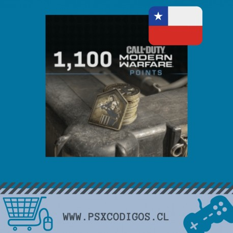 Call Of Duty Warzone: 1100 POINTS [PS4 CHILE]
