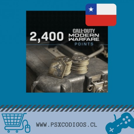 Call Of Duty Warzone: 2400 POINTS [PS4 CHILE]