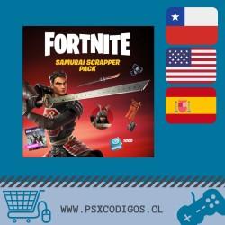Paquete Samurái saqueador [Incluye Salvar el Mundo] Fortnite PS4-PC