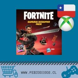 Paquete Samurái saqueador [Incluye Salvar el Mundo] Fortnite Xbox Chile