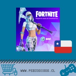 FORTNITE PACK: 600 PAVOS + SKIN + PICO + MOCHILA [PS4 - PC]