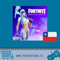 FORTNITE PACK: 600 PAVOS + SKIN + PICO + MOCHILA [PS4 - PC]