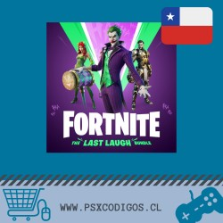 Fortnite: Lote La última risa [PS4 Chile]
