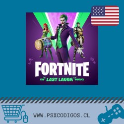 Fortnite: Lote La última risa [PS4 EEUU]